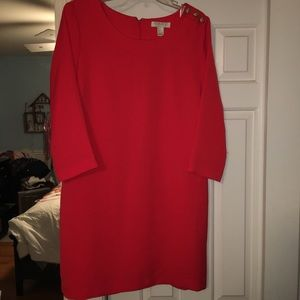 Red classy forever 21 dress!